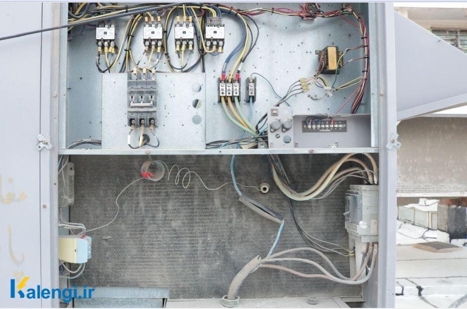 چیلر هوا خنک - برق دستگاه