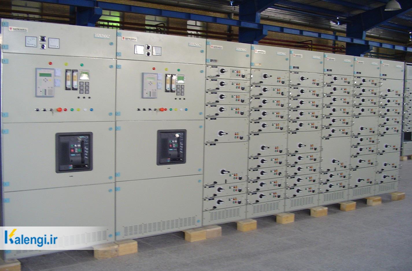 انواع تابلو برق - تابلو اصلی