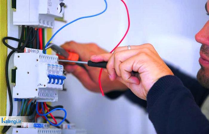 اتصالی در برق ساختمان
