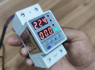 محافظ ولتاژ قابل تنظیم